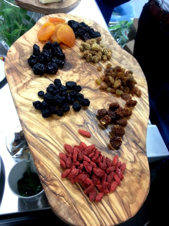 granola berries at 5&33