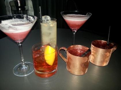 5&33 cocktails