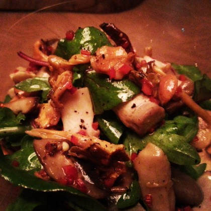 Autumn Vegetable Salad