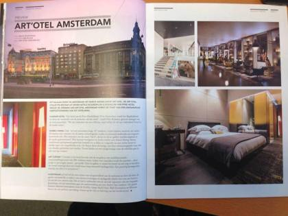 Venuez September  Edition - hotel opening art'otel amsterdam