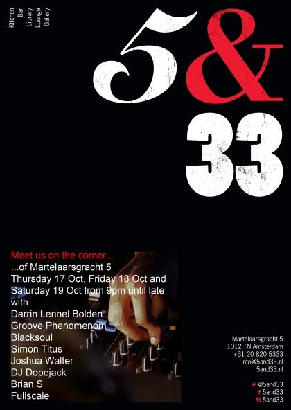 5&33 DJs