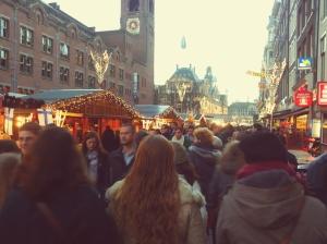 Kerstmarkt - Damrak