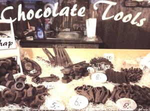Chocolade gereedschap