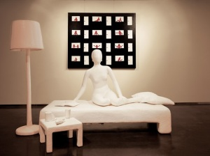 Female on Bed, 2007