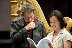 Philip Glass & Lavinia Meijer